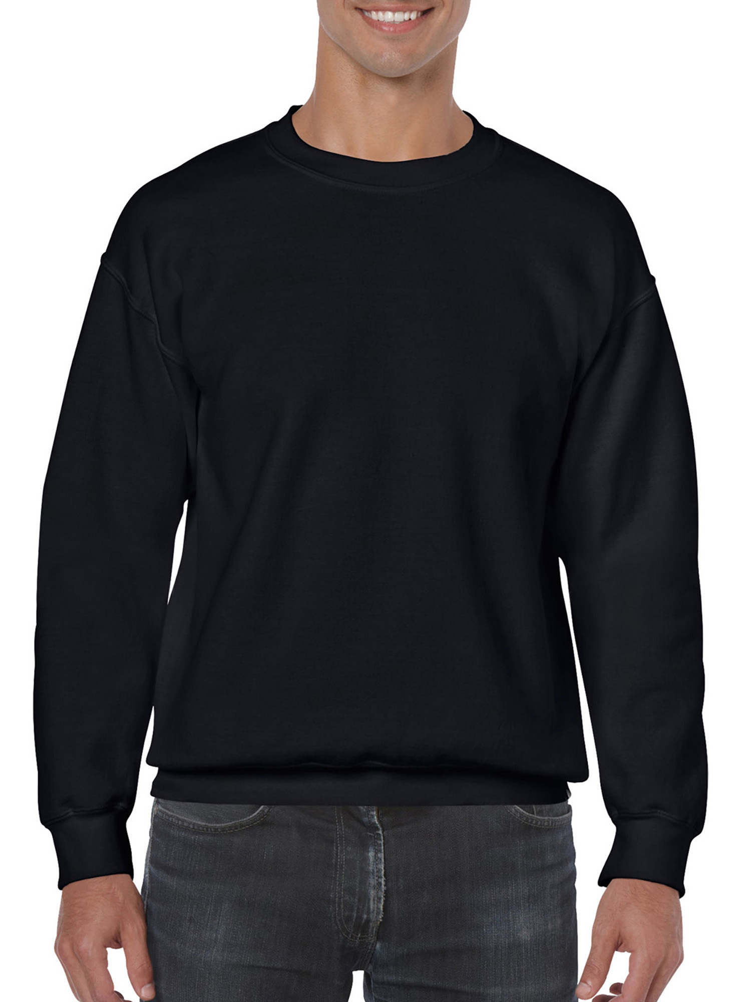 Big Mens Crewneck Sweatshirt