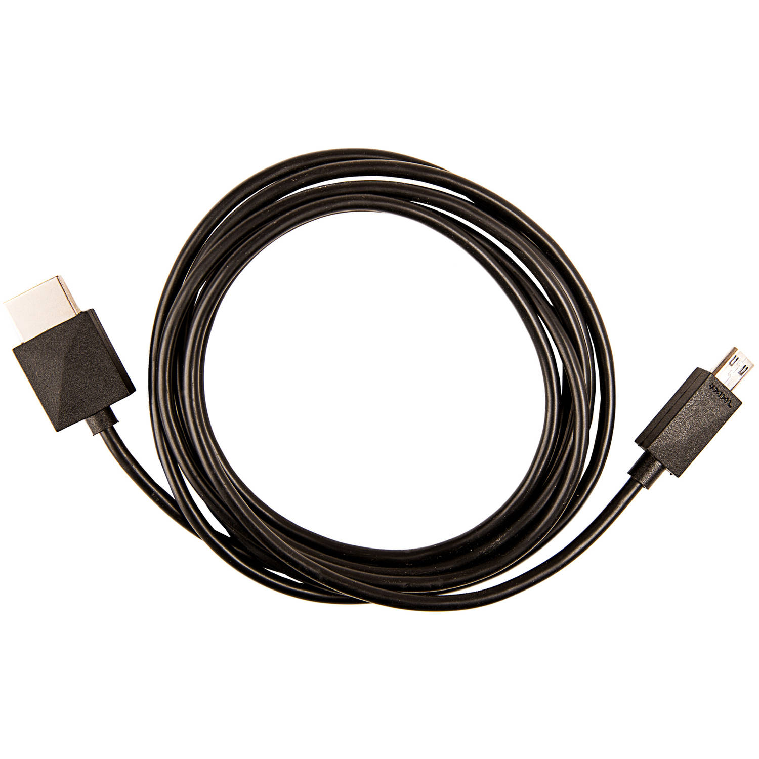 MHL 11-Pin microUSB to HDMI Cable, 6' Long