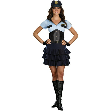 police officer womens adult halloween costume
