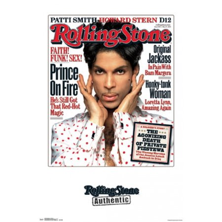 Rolling Stone   Prince 04 Poster Poster Print by Rolled Poster