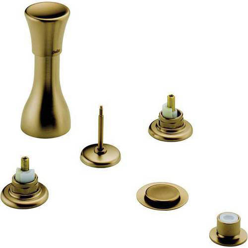 Delta Classic Bidet Faucet, Less Handles, Available in Various Colors