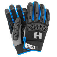 Hart Pro 5-Finger Touchscreen Impact Work Gloves (Large)