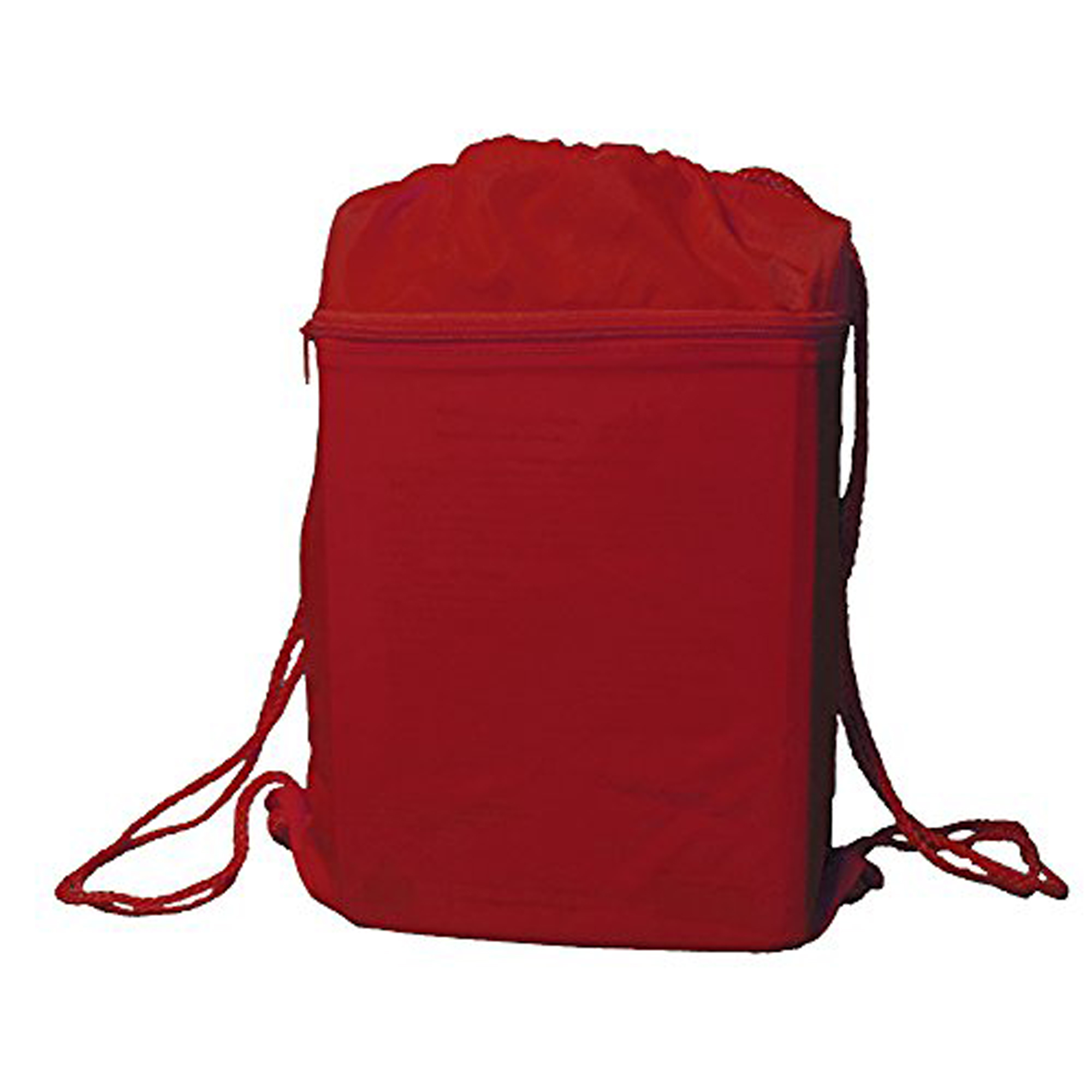 Bright Red Drawstring Cinch Sports Travel Bag by Everest
