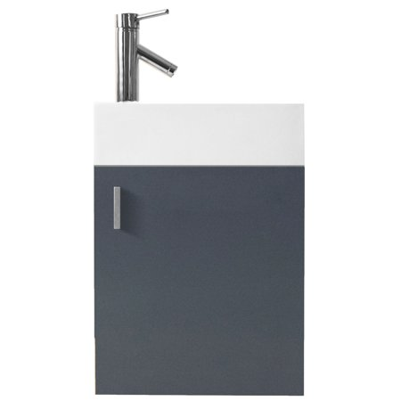 Virtu Carino 16'' Bathroom Vanity - Small Bathroom Vanity