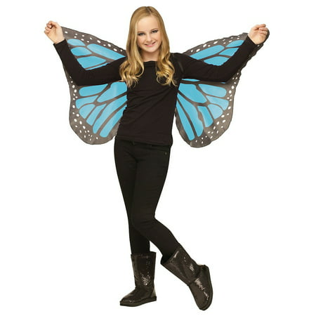 Butterfly Child Wings (Blue)](Blue Butterfly Costume)