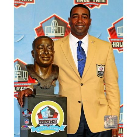 Cris Carter 2013 Pro Football Hall of Fame Induction Ceremony Photo Print - Pro Football Hall Of Fame Halloween