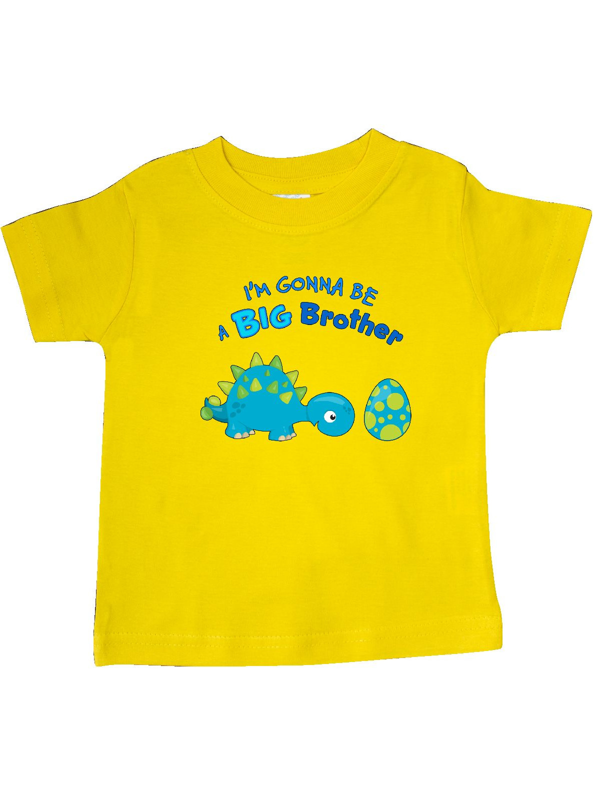 Happy Dinosaur Future Big Brother Baby T-Shirt