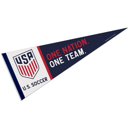 Us Soccer One Nation One Team Pennant