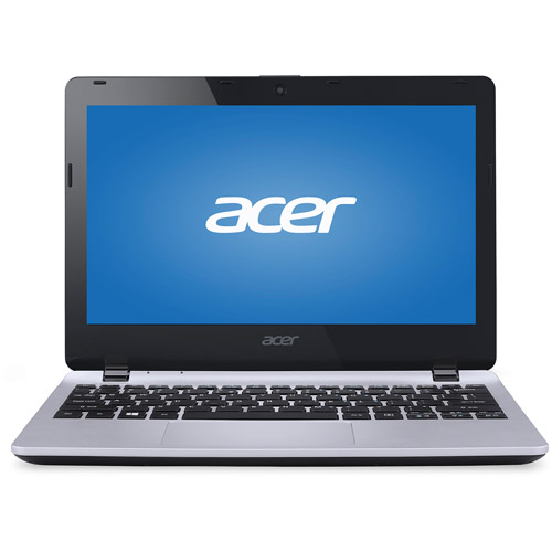 "Acer Silver 11.6"" E3-111 Laptop PC with Intel Celeron N2930 Quad-Core Processor, 4GB Memory, 500GB Hard Drive and Windows 7 Home Premium"