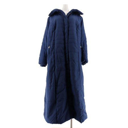 Dennis Basso Full Length Maxi Puffer Coat A301431