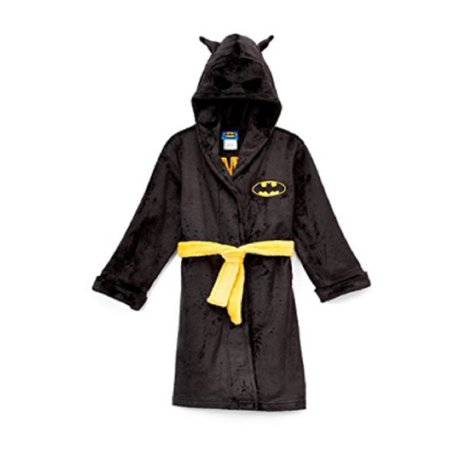 Batman 3t Toddler Boys Hooded Robe with Mask](Batman Robe)