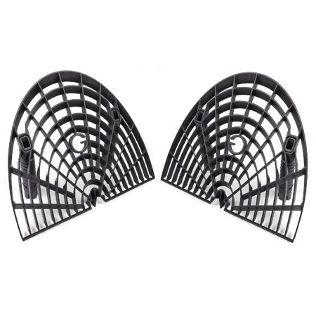 GritGuard GGWB-BLK 2-Pack Washboard Bucket Insert: Attaches to Grit Guard Insert