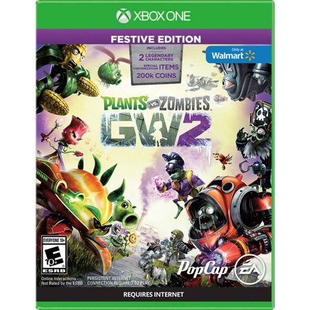 Plants vs zombies garden warfare 2 festive edition xbox one - Plants vs zombies garden warfare xbox one ...