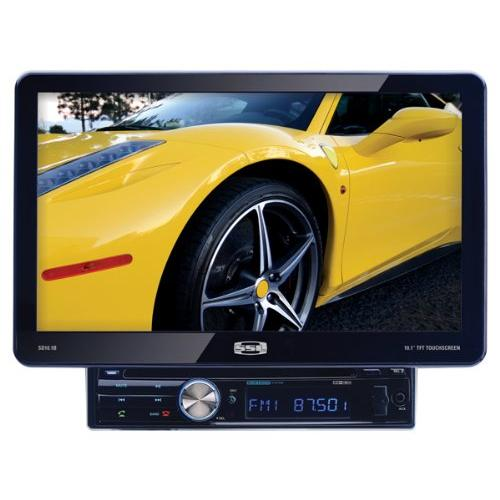 "Soundstorm Sd10.1b Single-din In-dash Dvd Receiver With 10.1"" Detachable Touchscreen Monitor & Bluetooth[r]"