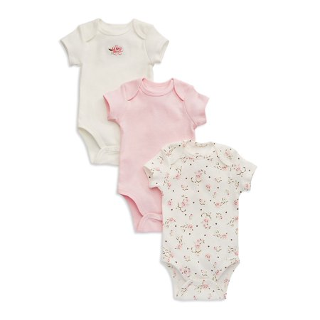 3-Piece Roses Bodysuit Set
