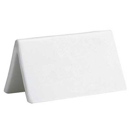 TABLECRAFT PRODUCTS COMPANY P16 Dry EraseBuffet Sign,Porcelain,White