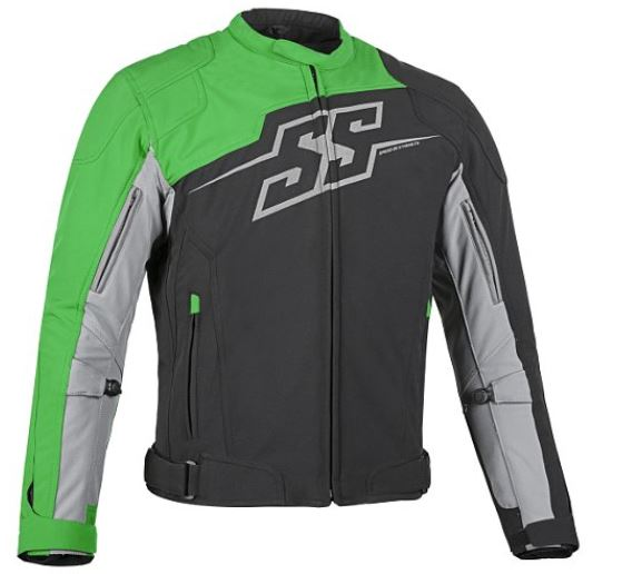 Speed & Strength Hammer Down Textile Jacket Green/Black