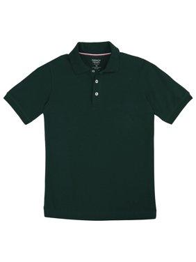 French Toast Boys School Uniform Short Sleeve Pique Polo Shirt (Little Boys & Big Boys)