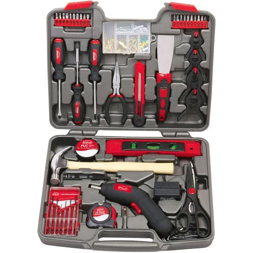 Apollo Precision Tools 144-Piece Household Tool Kit