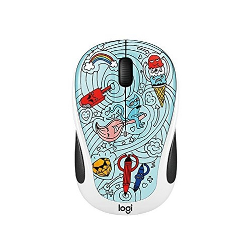 Logitech M325c Small Colorful Wireless Mouse - Bae Bee Blue