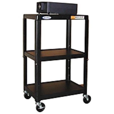Hamilton Buhl A/V Equipment Stand - 450 lb Load Capacity - 3 x (Refurbished)