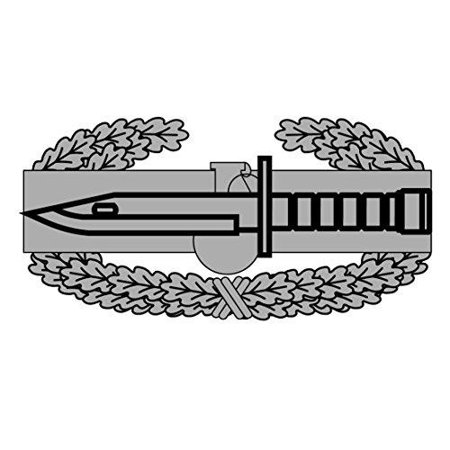 US Army - Combat Action Badge Decal - Five Inch Wide Full Color Decal, Sticker (Combat Action Badge Decal)