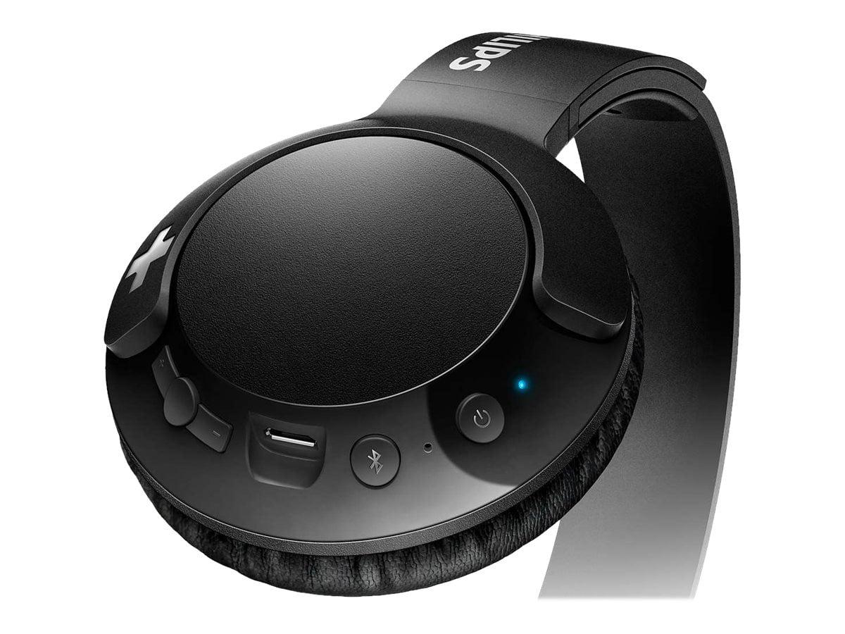 Philips Shb3075bk Bass Wireless Bluetooth On The Ear Headphones With Mic Black Walmart Inventory Checker Brickseek