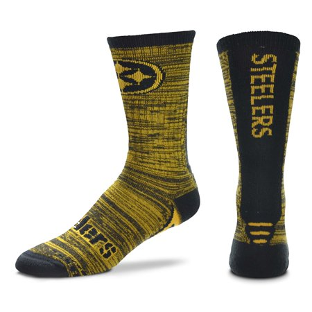 Pittsburgh Steelers Jump Jolt Socks, Large (Men