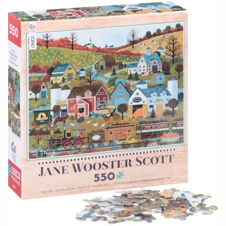 Ceaco® Jane Wooster Scott Journeys of the Heart Puzzle 550 pc - Jane Wooster Scott Halloween Puzzle