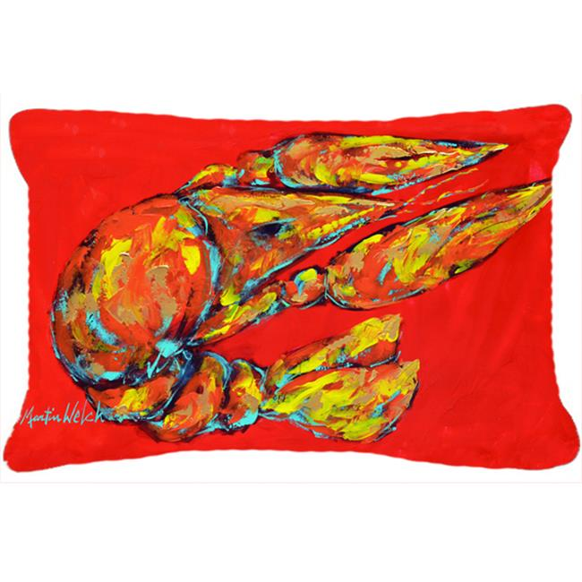 Carolines Treasures MW1151PW1216 12 x 16 In. Reach for the Claws Indoor & Outdoor Fabric Decorative Pillow - image 1 de 1