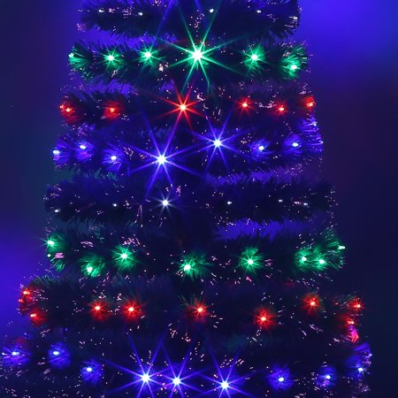 led fiber optic christmas tree color changing artificial chrismas tree
