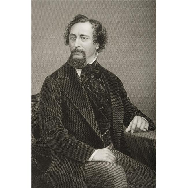 Posterazzi DPI1860446LARGE Charles John Huffam Dickens 1812-1870. English Novelist. Engraved by D. J. Pound Poster Print, 24 x 36 - image 1 of 1