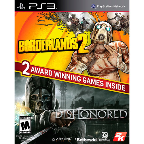 Borderlands 2 & Dishonored Bundle (PS3)