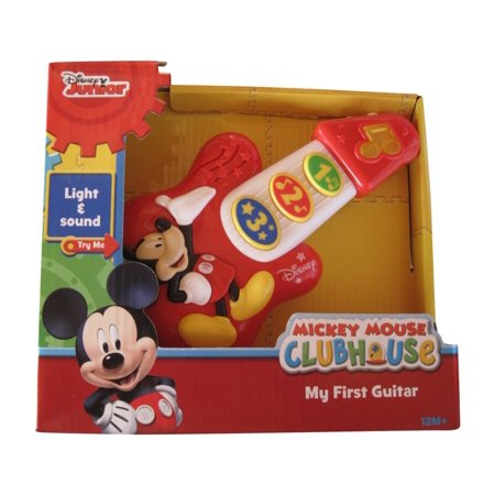 disney mickey mouse my first guitar. Black Bedroom Furniture Sets. Home Design Ideas