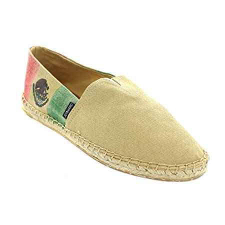 Joy & Mario Nautical Canvas Slip-On Espadrille Flat L07equ