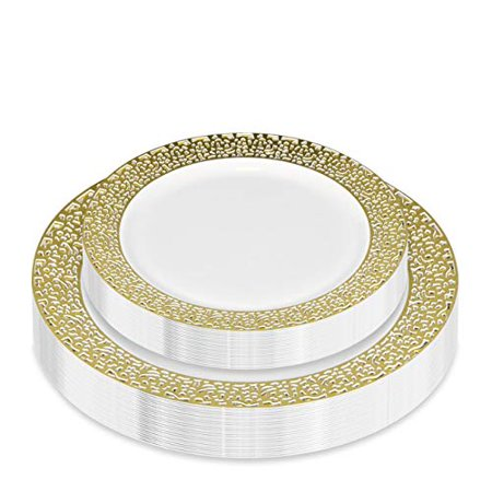 Lace Platinum Dinner - Stock Your Home Dinner Plates 7