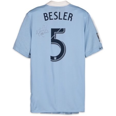 buy popular 4c81b a0b28 Matt Besler Sporting Kansas City Autographed Match-Used Blue #5 Jersey from  the 2018 MLS Season - Fanatics Authentic Certified - Walmart.com