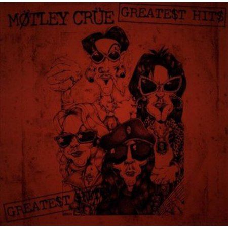 MOTLEY CRUE Greatest Hits (Vinyl)