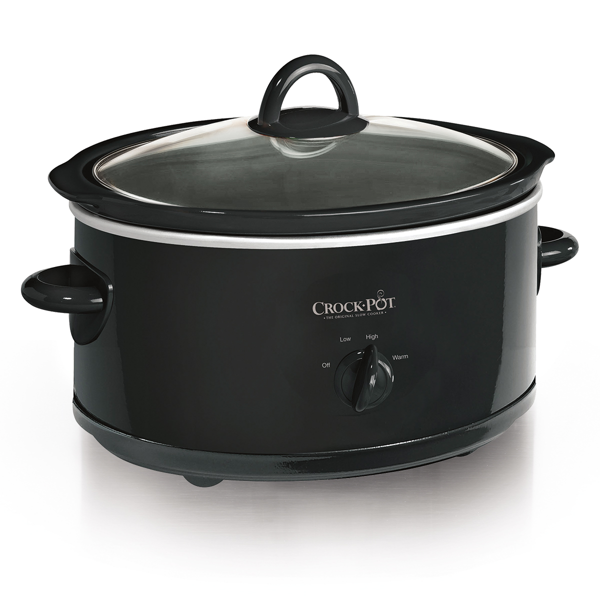 Crock-Pot Manual Slow Cooker, 7 Quart, Black