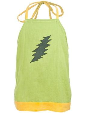 Lightning Bolt Natural Toddler Shorts Grateful Dead