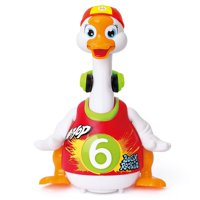 Dancing Hip Hop Goose Development Musical Fun Toy Red