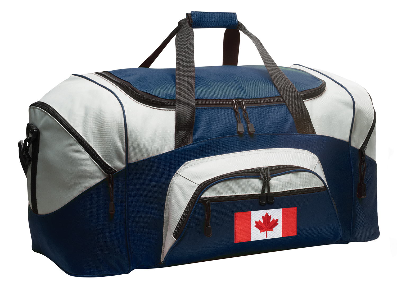Canada Flag Duffle Bags or Canadian Flag Luggage