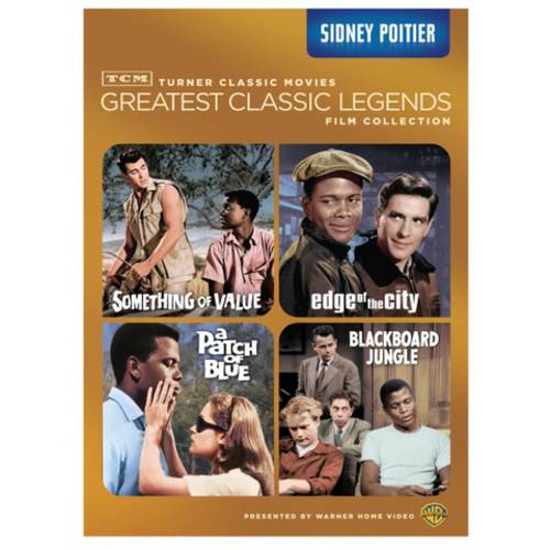 TCM Greatest Classic Legends: Sidney Poitier - Something Of Value / Edge Of The City / A Patch Of Blue / Blackboard Jungle