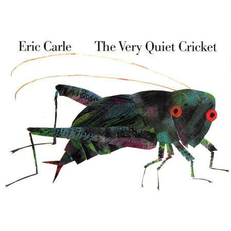 Very Quiet Cricket (Board Book) (Eric Carle The Very Quiet Cricket)