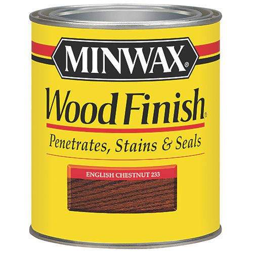 Minwax Wood Finish, Half Pint, English Chestnut