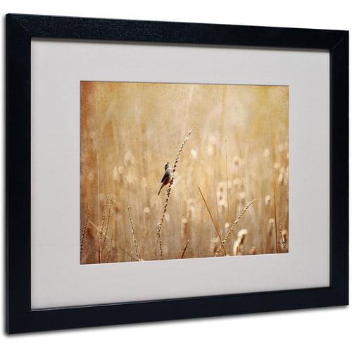 Trademark Fine Art 'Joyful, Joyful, All Rejoicing' Matted Framed Art by Lois Bryan