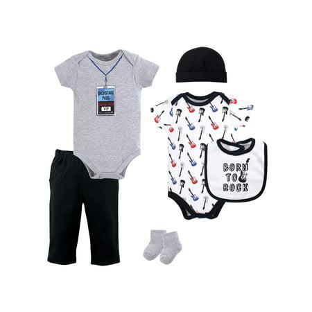 Baby Shower Layette Gift Set, 6pc (Baby Boy)](Baby Lumberjack)