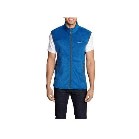 Rock Fit LLC Eddie Bauer Mens Size Small Quest 200 Fleece Vest, True Blue (Quest Vest)