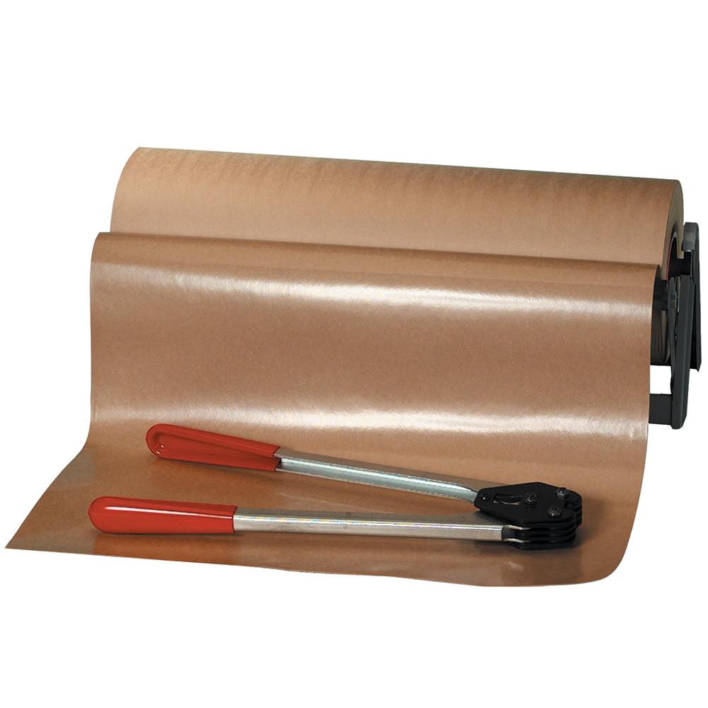 Box Partners Poly Coated Kraft Paper RL,50#,12x600',Kraft,1 RL - BXP KPPC1250
