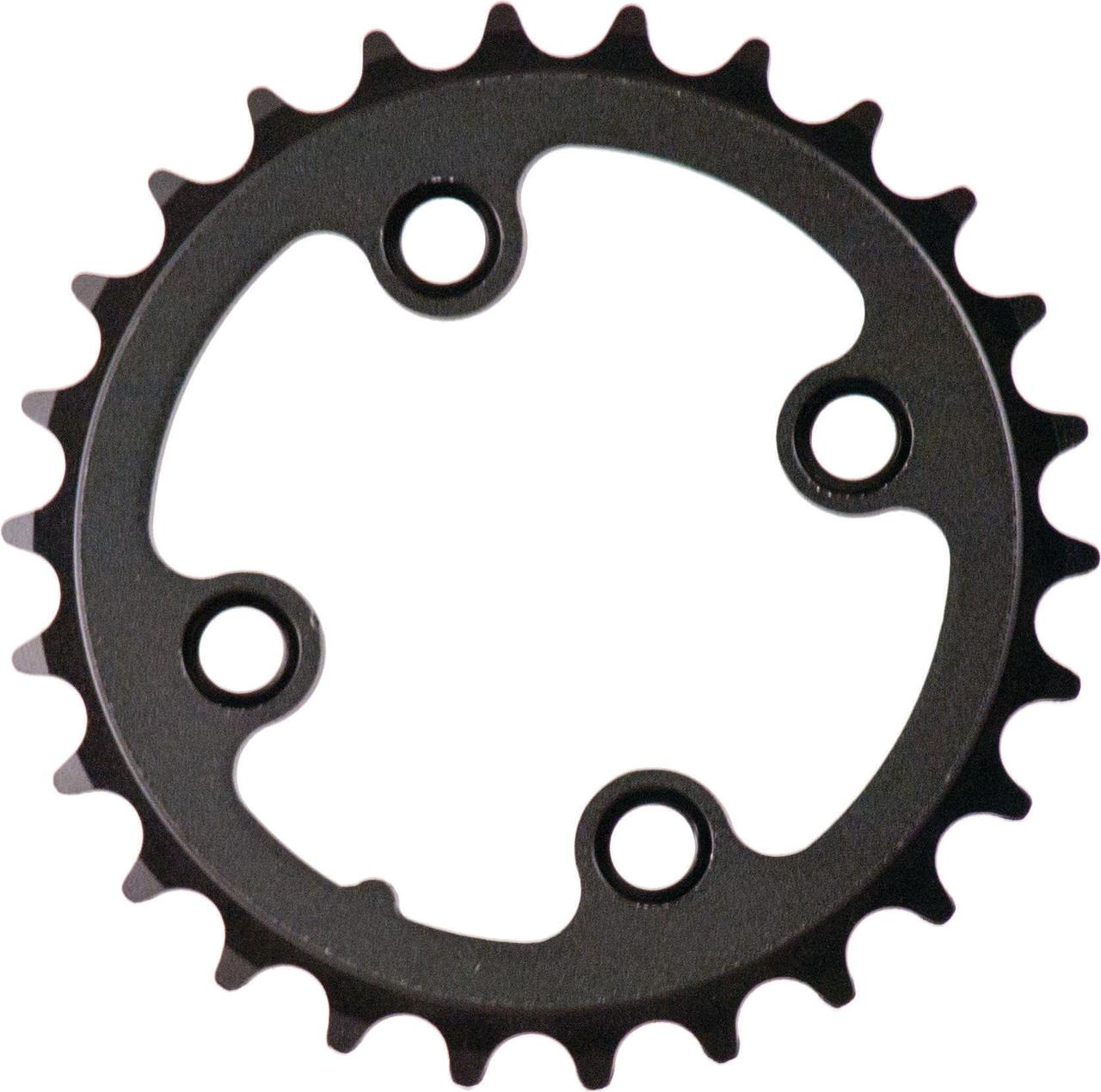 ACTION 64MM 26T BLK/SIL 3/32 INNER CHAINRING CR0373